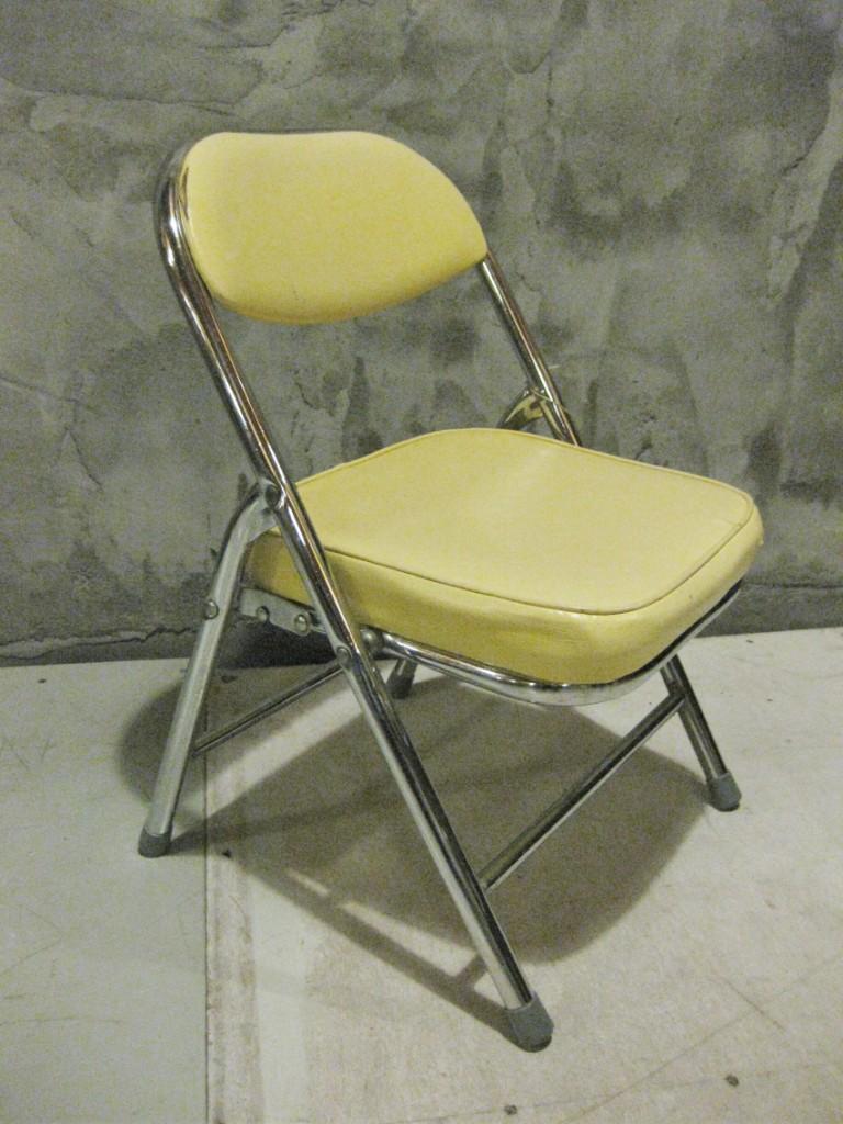 kinderklapstoeltje buisframe jaren '50 3