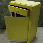 art deco kast geel 4