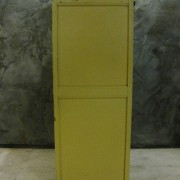 art deco kast geel 6