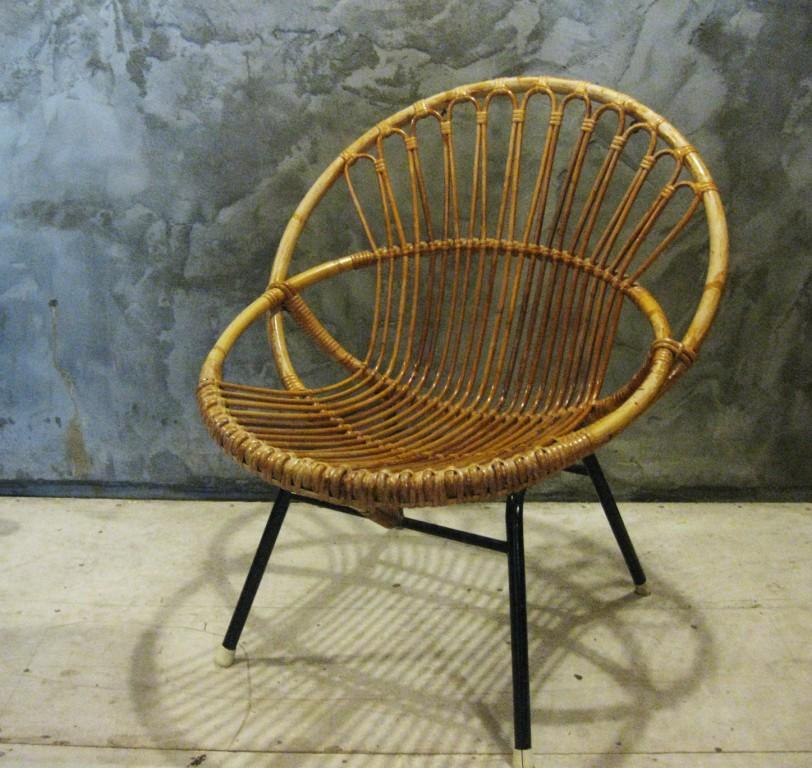 retro bamboe fauteuiltje 1