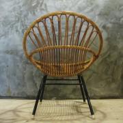 retro bamboe fauteuiltje 3