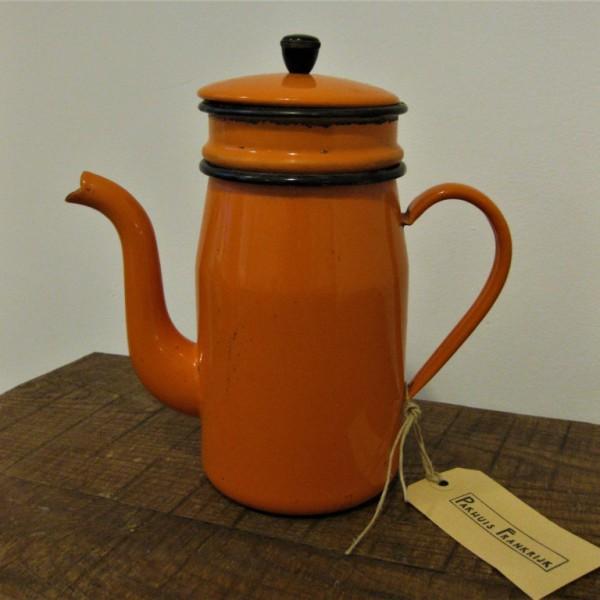 koffiepot oranje 1