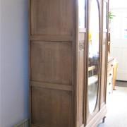 garderobekast ovale spiegel 4