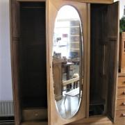 garderobekast ovale spiegel 5