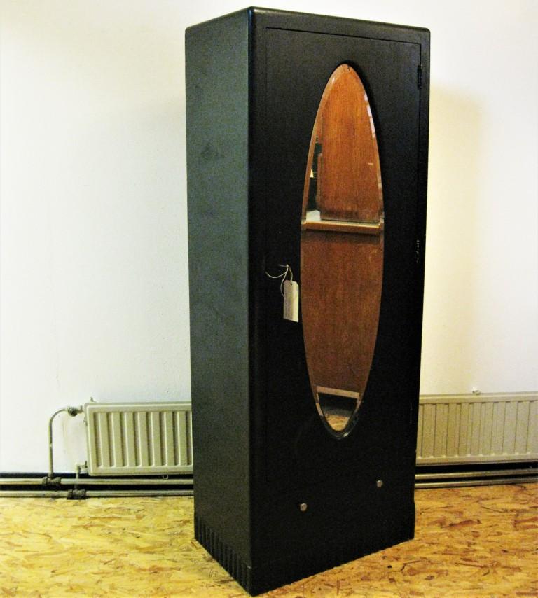 1 deurs kledingkast zwart jr 50 1