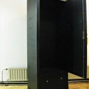 1 deurs kledingkast zwart jr 50 4
