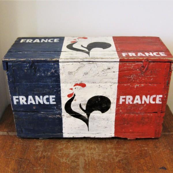 Houten kist France 1