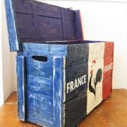 Houten kist France 2